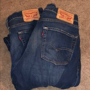 511 Levi's with red tag